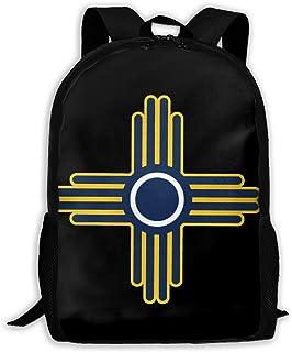 Zia Sun - Zia Pueblo - Mochilas de viaje de moda de Nuevo México Mochilas elegantes Mochila para computadora portátil Moch...