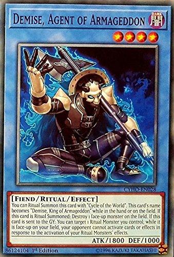 Yu-Gi-Oh! - Demise, Agent of Armageddon - CYHO-EN028 - Common - 1st Edition - Cybernetic Horizon