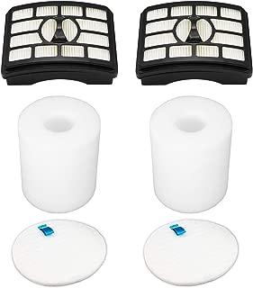 Lemige Vacuum Filters Replacement Set for Shark Rotator Professional Lift-Away NV500 NV501 NV502 NV503 NV505 NV510 NV520 NV552 UV560, 2 HEPA Filters +2 Foam&Felt Filters, Part XFF500 & XHF500