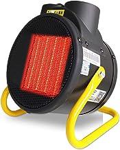 ZZLYY 3KW Calentador De Aire,Ventilador Industrial Calefacción Independiente, para El Taller Garaje De La Casa Verde Fábrica De 2 Velocidades De,2000W