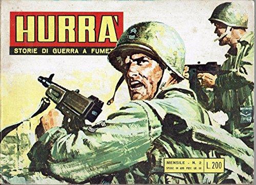 HURRA' Storie di Guerra a Fumetti n. 2 ed. Eurorama 1969 FU07