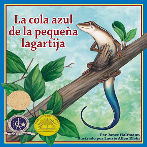 La cola azul de la pequeña lagartija [The Blue Tail of the Small Lizard] copertina