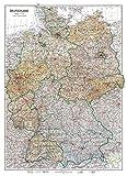 Karte von DEUTSCHLAND 1949 [Besatzungszonenkarte]. Amerikanische| Britische| Französische | Sowjetische Besatzungszone