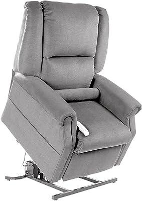 Mega Motion NM101 Lay-Flat Lift Chair, Medium, Dove