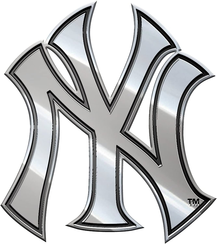 New York Yankees Team Logo Premium Metal Auto Emblem