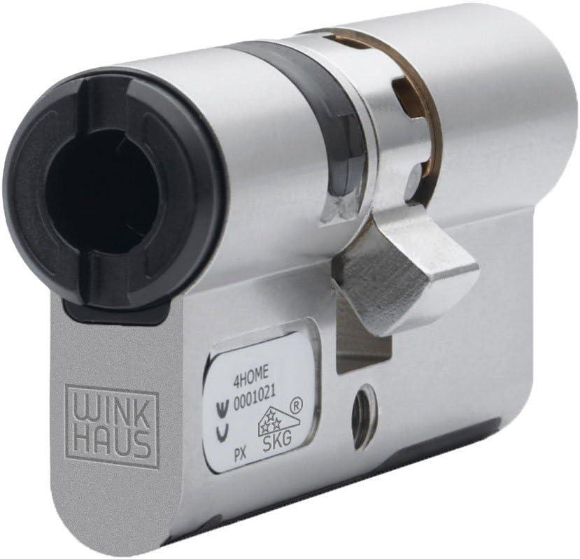30//30mm Schließzylinder Winkhaus keyTec N-tra Doppelprofilzylinder Länge