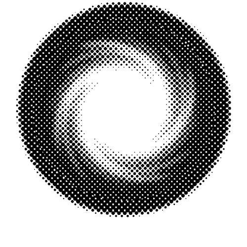 Matlens - Pro Trend Farbige Kontaktlinsen ohne Stärke Black schwarz Big Eyes Circle Lenses WPA-200 2 Linsen 1 Kontaktlinsenbehälter 1 Pflegemittel 50ml. PVWPA20000000