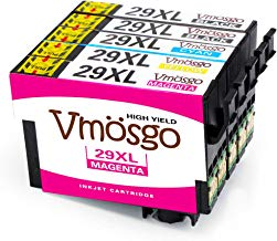 Vmosgo 29XL Reemplazo para Epson 29 Cartuchos de Tinta para Epson Expression Home XP-255 XP-442 XP-342 XP-247 XP-332 XP-245 XP-335 XP-235 XP-445 XP-345 XP-352 XP-452 XP-432 XP-355 XP-435 XP-330