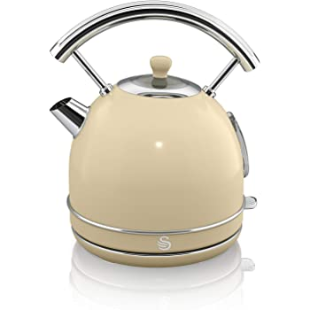 Kettle Chrome Cream Trim 3000W 72702