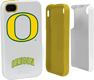 Guard Dog Oregon Ducks Hybrid Case for iPhone 4 / 4s - White