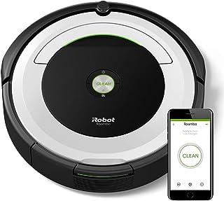 iRobot Roomba 691- Robot aspirador para suelos duros y alfombras, con tecnología Dirt Detect, sistema de limpieza en 3 fas...