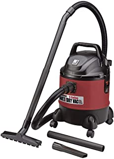 5 Gallon Wet Dry Vacuum Blower - Powerful Shop Car Cleaner Liquid Dirt Quality Best