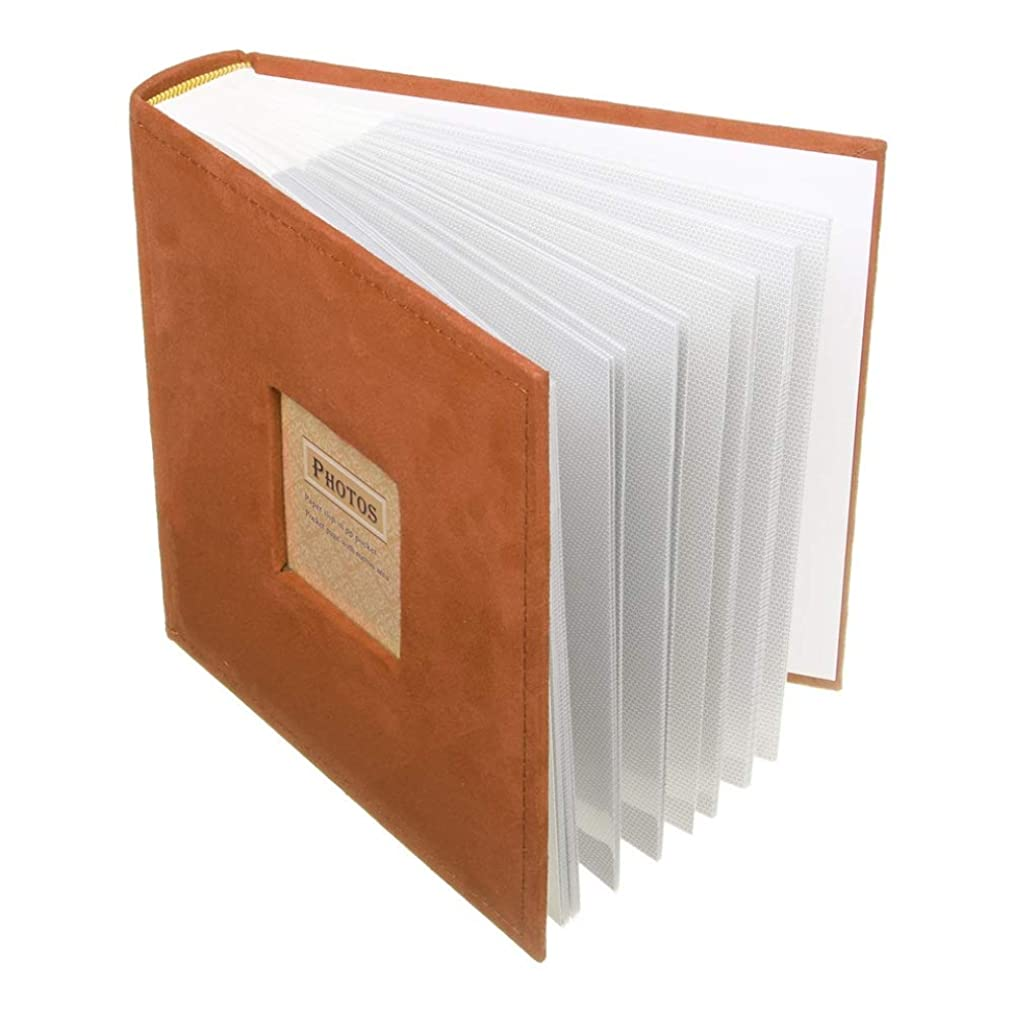 fpnhgf Photo Albums Holds 200 Photos Slip in Memo Photo Album Family Memory Notebook Picture Albums 200 Photos for Photographs Albums Book