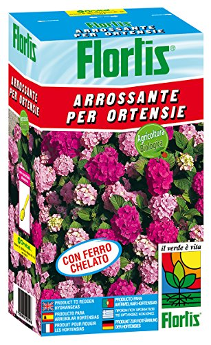 Flortis 1130159 Concime CE Arrossante per Ortensie, 500 g, 7.5x13.5x24 cm