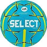 SELECT Sigma, Pallone da Pallamano Unisex-Adulti, Tuerkis Giallo, Set da 3