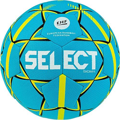 Select Unisex Jugend Sigma Handball, Tuerkis gelb, 1