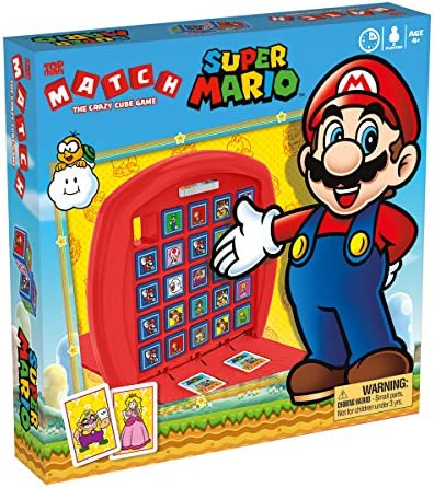 Super Mario Top Trumps Match Board Game
