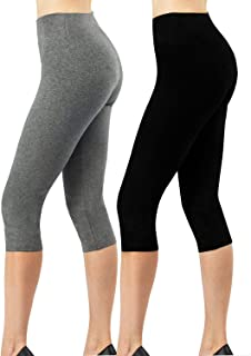 Pour femme More Mile 3//4 Longueur Running Legging Capri Gym Yoga Taille bas
