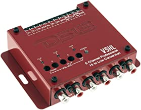 DS18 V5HL 5-Channel Line Out Converter - High-Level Speaker Signal to Low-Level RCA Adapter, Built-in Audio Sensing Technology - Produces Remote Trigger Output to Control Your Aftermarket Equipment