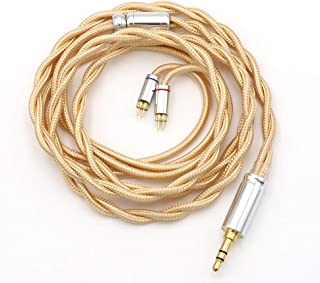 Linsoul LSC08 6N OCC Single Crystal Copper HiFi Earphone Cable for AK100, AK120, AK240, DP-X1, DP-X1A, FIIO X5III, XDP-300R, KANN, BQEYZ Spring1 (3.5mm, 2pin 0.78)