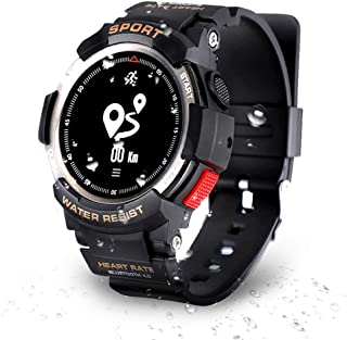 Smart Watch Sports Watches Fitness Tracker para Correr Sports Watch, natación, Ciclismo, Monitor de Ritmo cardíaco, Activity Tracker Sports Watch con Bluetooth, Reloj Deportivo Impermeable