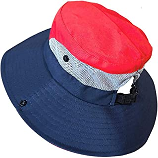 WISTOM 1Pcs Women's Outdoor UV Protection Foldable Mesh Wide Brim Beach Fishing Hat