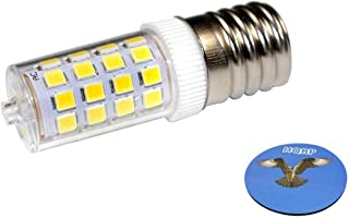 HQRP 110V E17 Dimmable LED Light Bulb Cool White for Bosch HMV9305-01 / 25T8N / 423878 Replacement Plus HQRP Coaster
