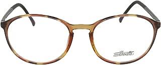 Silhouette Eyeglasses SPX Illusion Fullrim 2889 6061 Tortoise Blk 2889-6061-49mm