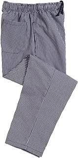 Dennys Elasticated chefs trousers (DE01E)