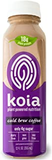 Koia Plant Protein Drink, Cold Brew Coffee, 12 Ounces