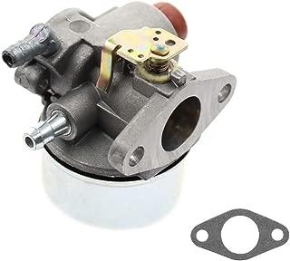 AUTOKAY Carburetor for Tecumseh Go Kart Engine 5hp 5.5hp 6hp 6.5hp Horizontal