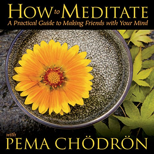 How to Meditate with Pema Chodron audiobook cover art