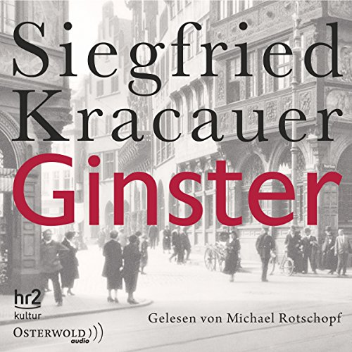 Ginster audiobook cover art