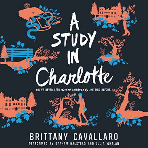 A Study in Charlotte audiobook cover art