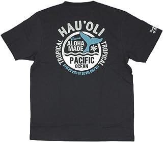 ALOHA MADE アロハメイド メンズ 半袖 Tシャツ (メンズ チャコールグレー) 202MA1ST043GR フララニ (M)
