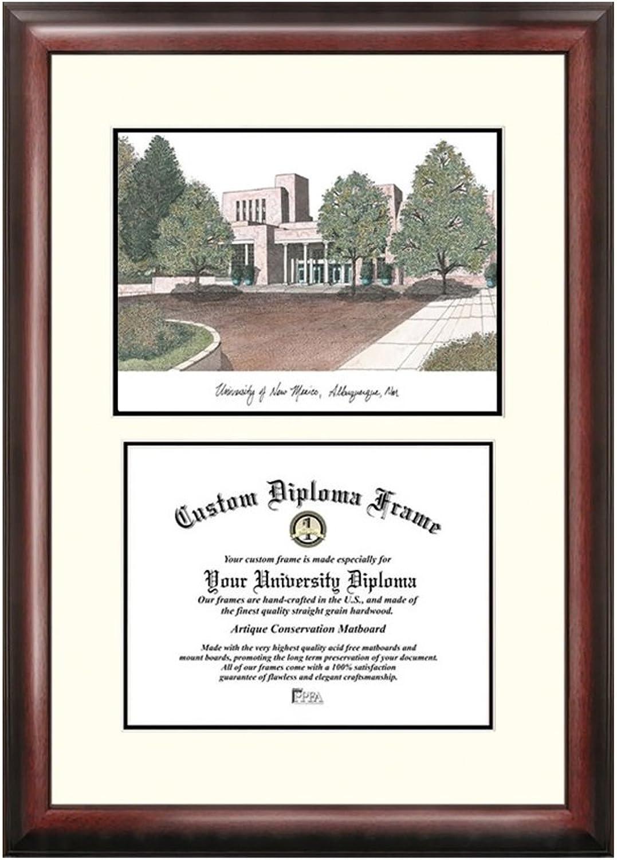 University of New Mexico Scholar Diploma Frame