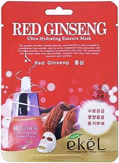 قناع ترطيب ايسنس فائق من ايكيل - احمر جينسينج - قطعة واحدة (25 مل)