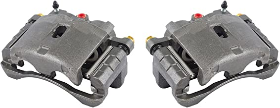 CKOE00969 FRONT/REAR [ 2 ] Premium Grade OE Semi-Loaded Caliper Assembly Pair Set