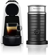 Nespresso Essenza Mini Silver With Aeroccino Bundle