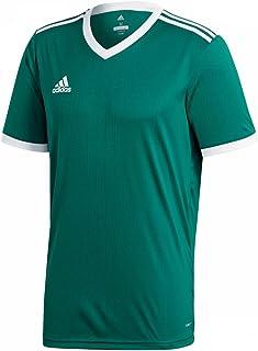 adidas Heren TABELA 18 JSY T-shirt, collegiate green/wit, M
