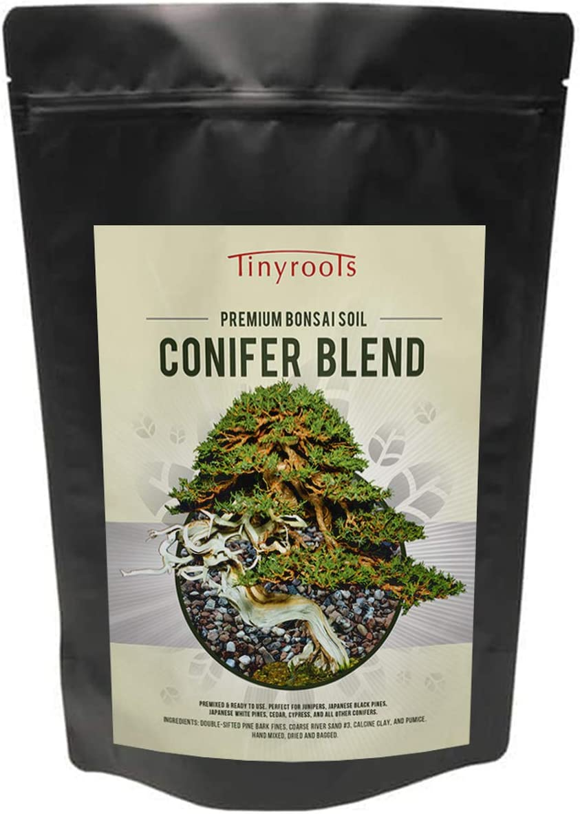 Finally resale start Conifer Bonsai Soil by Tinyroots Organic Sale item – Formulated 100%