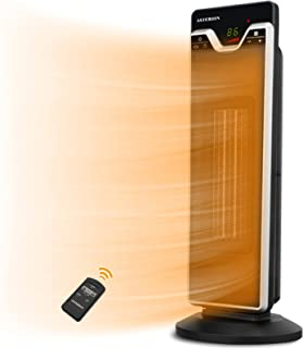 ASTERION Indoor Electric Space Heater with Adjustable Thermostat