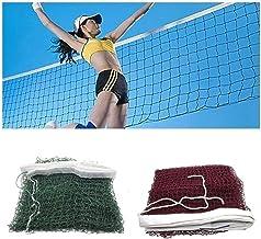 MZY1188 Redes de b/ádminton de 6.1mX0.76m Red de Entrenamiento est/ándar Red de b/ádminton Red de Tenis al Aire Libre Malla Red de Voleibol Redes Deportivas