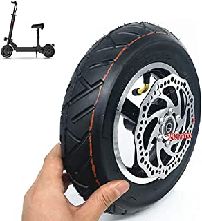 Electric Scooter Tires, 10-Inch Vacuum Inflated All-Wheels, Including Disc Brake Pads, 10X2.50 Tire Set, Suitable for Scoo...