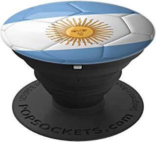 Argentina Soccer Flag Ball! Football Gift - PopSockets Grip and Stand for Phones and Tablets