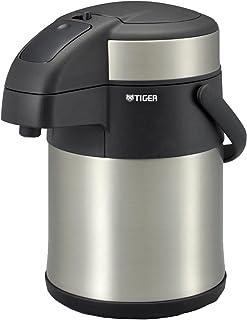 TIGER 虎牌 保温瓶 保温 桌上用品 不锈钢 空气 水壶 2.2升 MAA-C220-XC 银色