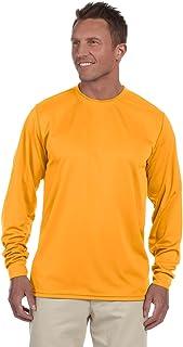 تي شيرت Augusta Sportswear رجالي رياضي بأكمام طويلة