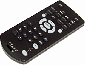 OEM Sony Remote Control Supplied with XAVAX5000, XAV-AX5000, XAVW651BT, XAV-W651BT, XAVW651BTN, XAV-W651BTN