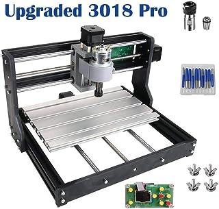 Versión de actualización (fácil de instalar) CNC 3018 Pro GRBL Control DIY Mini CNC Machine, Fresadora de PCB de 3 ejes, Grabadora de madera con controlador fuera de línea