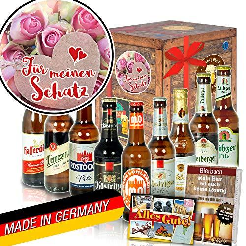 Für meinen Schatz - Geburtstag Geschenk - Ostdeutsche Biere